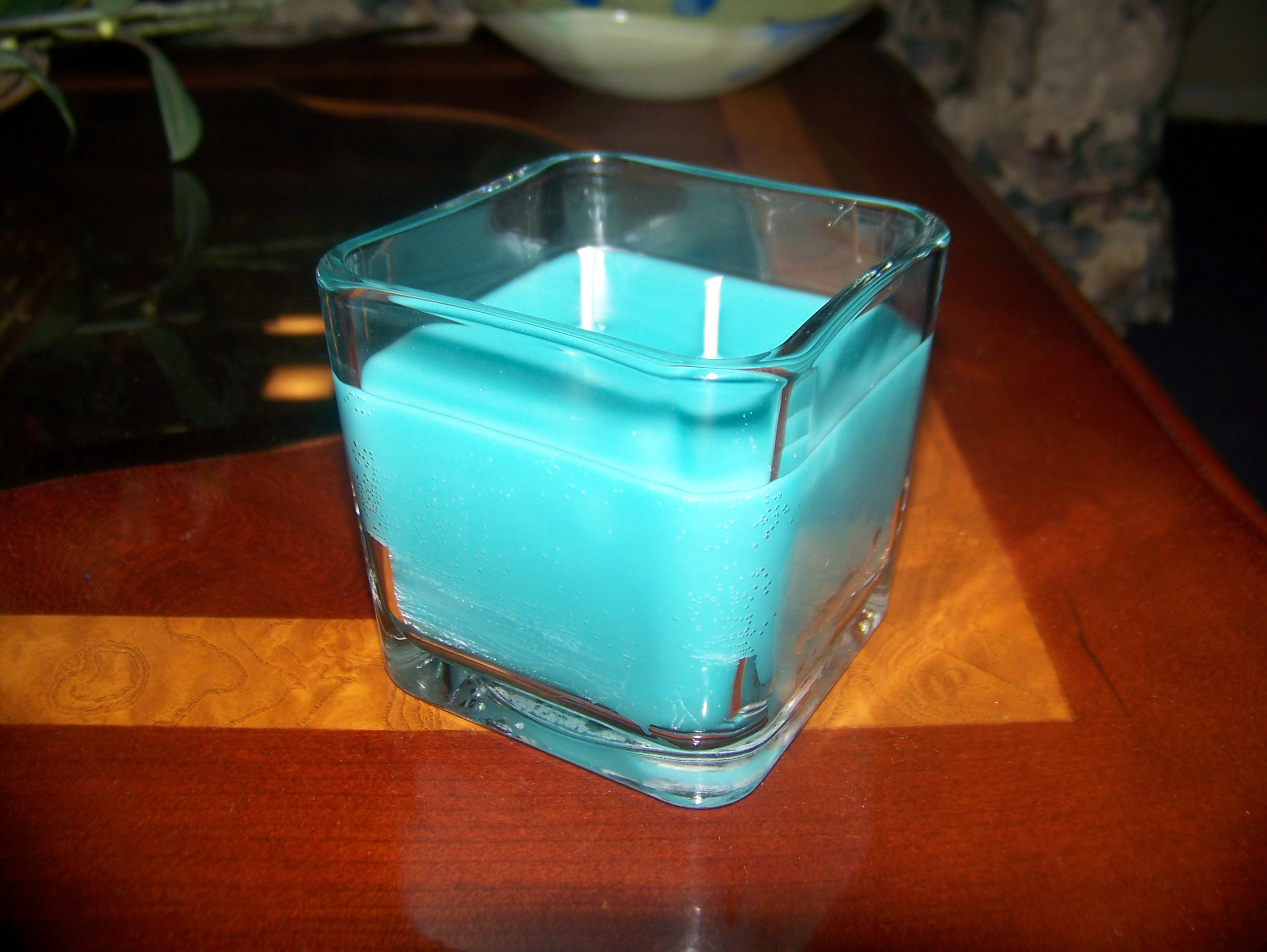 Square Container Candles