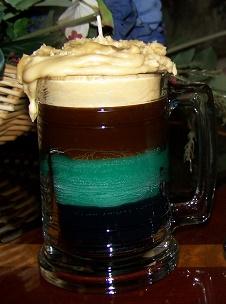 Camo Beer Mug Candles