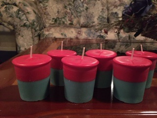 Christmas Votive Candles 6 pack