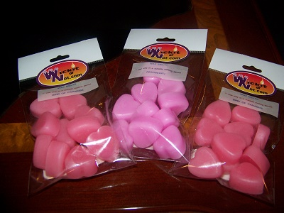 Heart Wax Melts Small