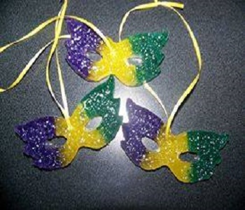 Mardi Gras Mask Car Air Fresheners
